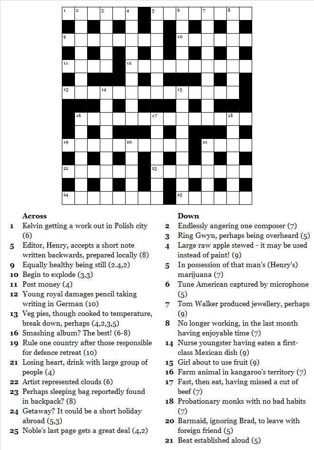 crossword 100
